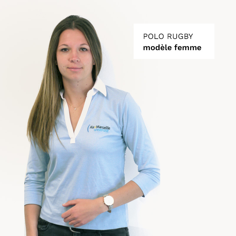 Polo rugby femme