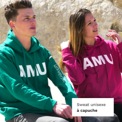 Sweat-shirt unisexe à capuche