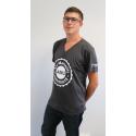 Tee-shirt homme coton col V