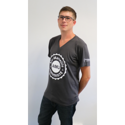 Tee-shirt homme coton col V