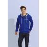 Sweat-shirt homme bicolore à capuche